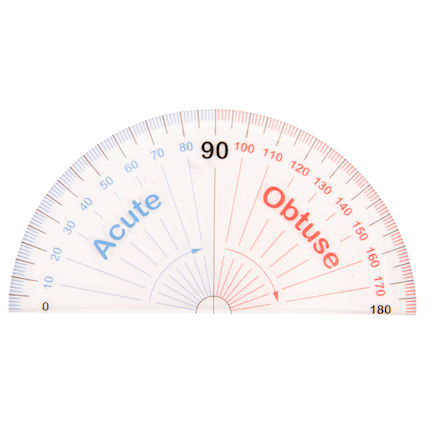 Teaching Protractor  large
