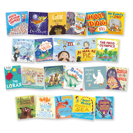 Rhyme and Rhythm Books 21pk  large