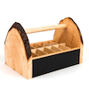 Wooden Art Caddy Storage Unit  small