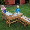 Outdoor Water and Sand Table with Pump  small