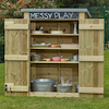 Outdoor Storage Shed with Chalkboard  small