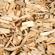 Natural Wood Chips 2.5l  medium