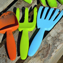 Plastic Gardening Hand Tools 3pk  medium