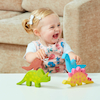 Pure Natural Rubber Small World Dinosaurs  small