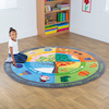 Seasons Mat Circle 2 x 2m  small