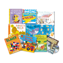KS1 and KS2 Audio Books and CDs   medium
