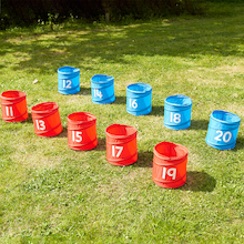 Numbered Folding Storage Tubs 11-20  medium
