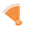 High Frequency Word Bookmarks Phase 2 6pk  small