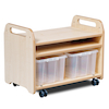 Millhouse Two Sided Easel and Trolley  small