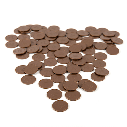 Two Pence Coin 100pcs  large