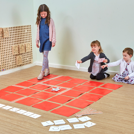 Physical Coding Mat and Cards Set  large