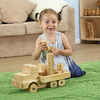 Giant Wooden Truck with Building Blocks  small
