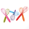 Assorted Coloured Whisks 6pk  small