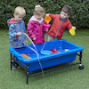 Sand \x26 Water Play Table 40cm Blue  small