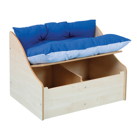 Junior Reading Corner and Kinderboxes in Maple  large