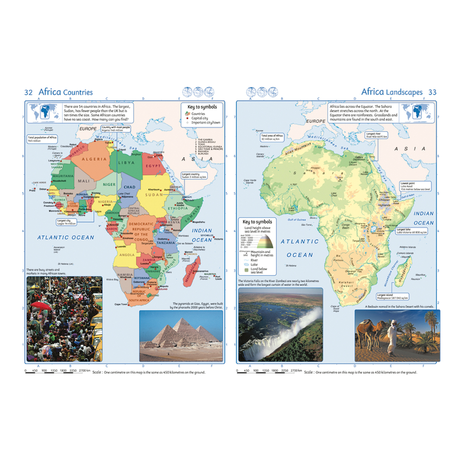 Buy collins junior world atlases ks2 tts collins junior world atlases ks2 small gumiabroncs Images