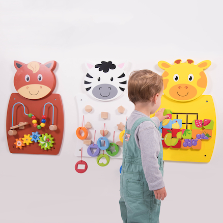 Animal Activity Wall Set pk3  large