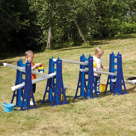 Creative Cascade Outdoor Plastic Channelling Set  large