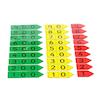 Coloured Magnetic Place Value Arrows Hundreds  small