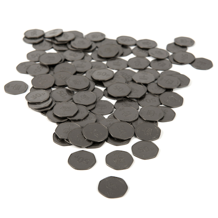 Fifty Pence Coin 100pcs  large