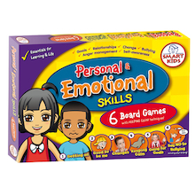 Personal and Emotional Skills Board Games 6pk  medium