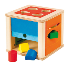 Wooden Discovery Shape Sorter Box  medium