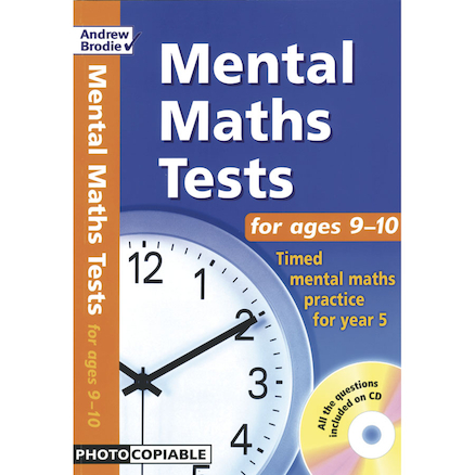 Mental Maths Resource Tests  large
