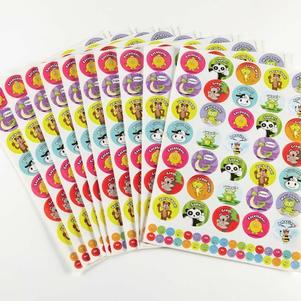 Assorted Praise Stickers 2070pk  large