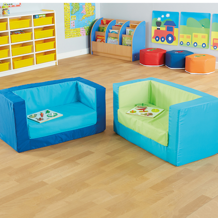 Primary Cube Sofa  large