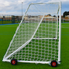 Steel Portable Goals \- Pair  small
