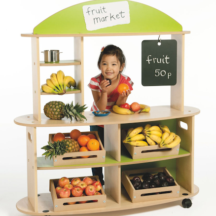 Role Play Mobile Market Stall  large