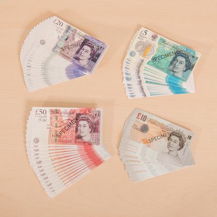 Play Money Notes Pack  large