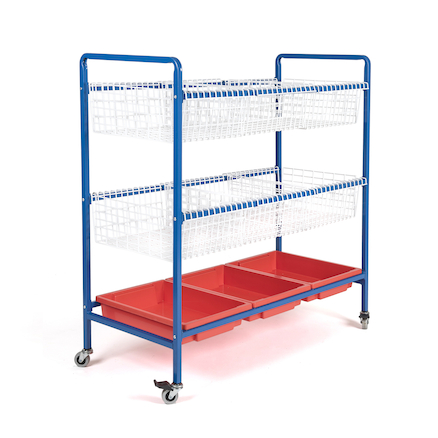 Wire Sand and Water Trolley  large