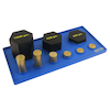 Brass and Steel Weights Set  small