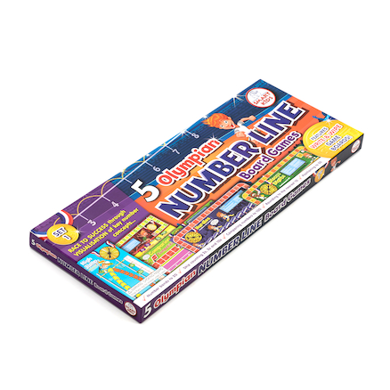 Number Line Maths Board Games  large