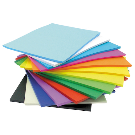 Assorted Vivid Paper Stack  large