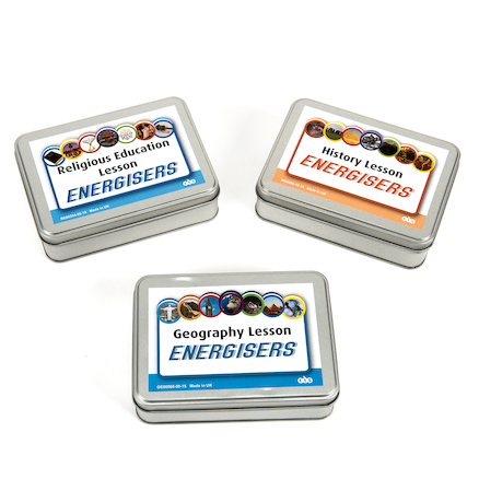 Lesson Energiser Activity Cards Set  large