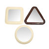 Soft Shapes Mirrors Set of 3  small