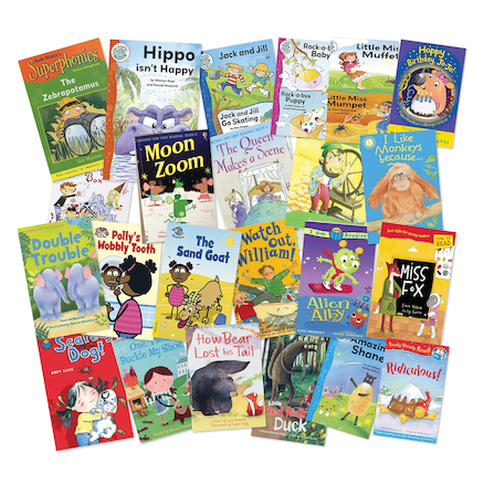 KS1 and KS2 Lower Ability Reader Books 25pk  large