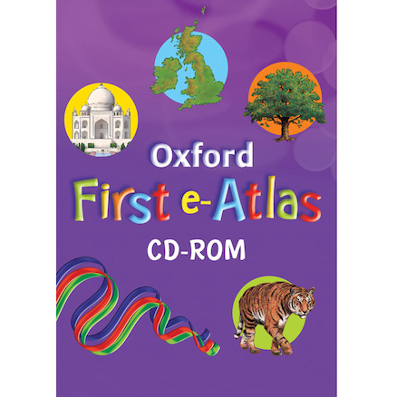 Oxford First E Atlas  large