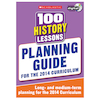100 History Lessons Teachers Planning Guide  small