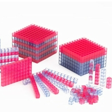 Base Ten Transparent Interlocking Class Set 355pcs  medium