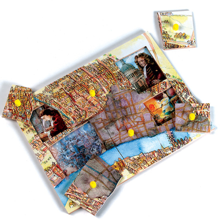 Great Fire of London Events Jigsaw Puzzle  large