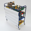 Whiteboard Music Storage Trolley  small