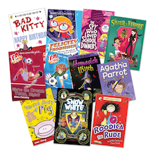 Boy and Girl Accelerated Reader Books  medium