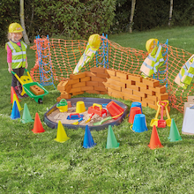 Role Play Construction Site Play Set 84pcs  medium