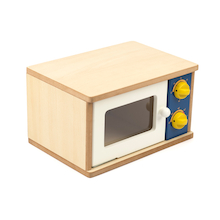 Wooden Role Play Microwave  medium