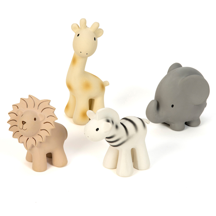 Pure Natural Rubber Small World Wild Animals  large