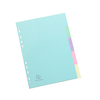 Forever® A4 Pastel Folder Dividers 180gsm  small