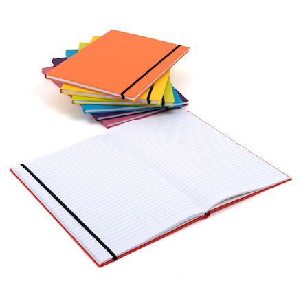 Pisces Hard Cover Elasticated Notebooks  large